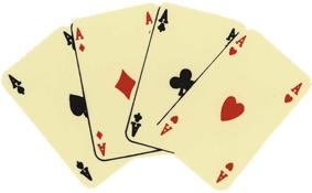 Four Aces, Karten, 4 Asse