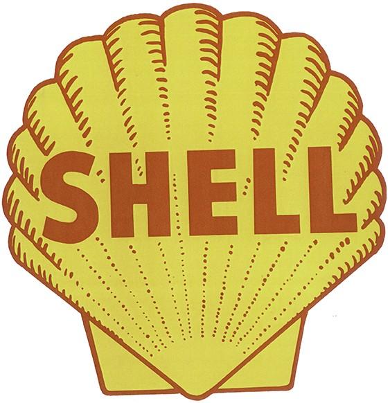 Shell gelb rot