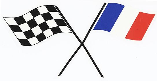 Zielflagge Frankreich