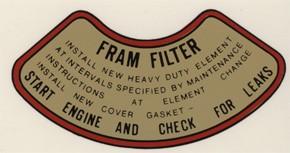 Militär Öl-Filter FRAM