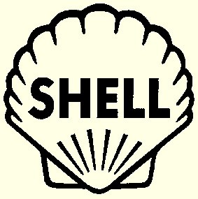 Shell schwarz