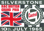 Silverstone Castrol 1965