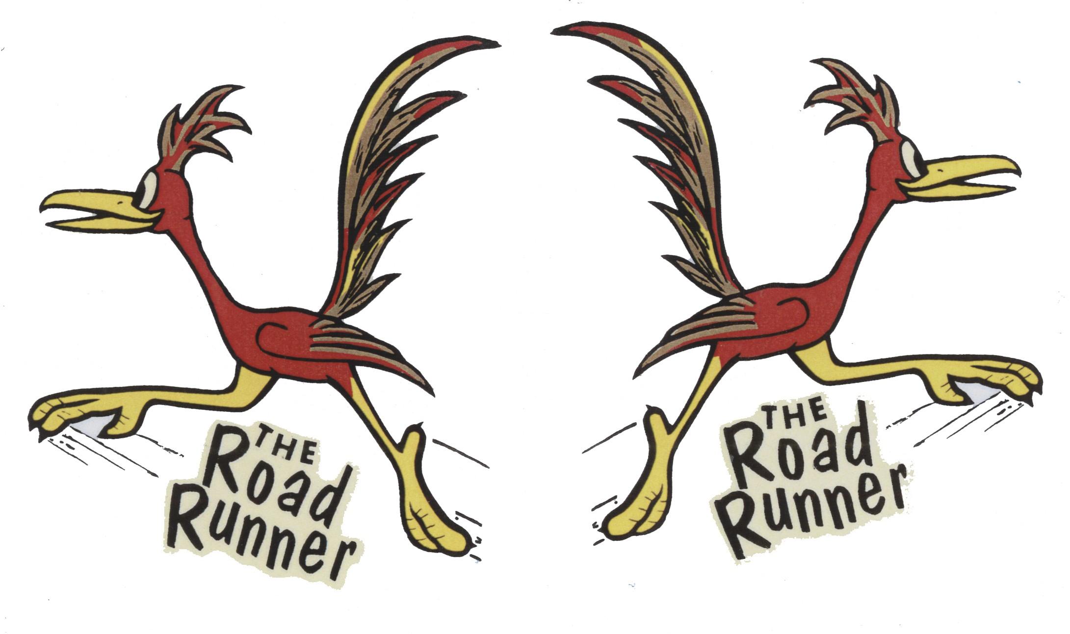 Road Runner rot/gelb