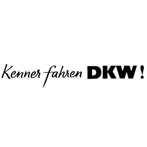 DKW Kenner fahren...