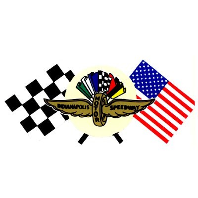 Indianapolis mit Flaggen