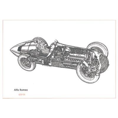 Cavara Alfa Romeo Monoposti