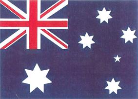 Nationalflagge Australien