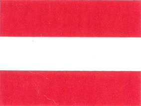 National Flagge Österrecih
