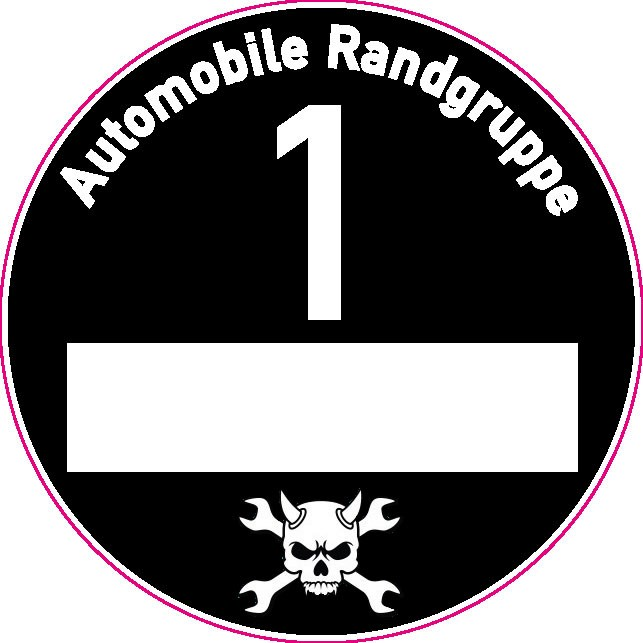 Feinstaubplakette - Automobile Randgruppe