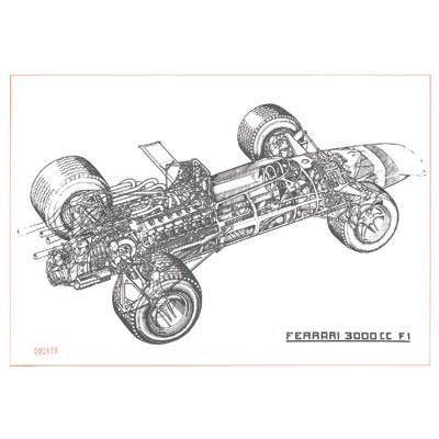 Cavara Ferrari 3000 CC/F1 Monoposti