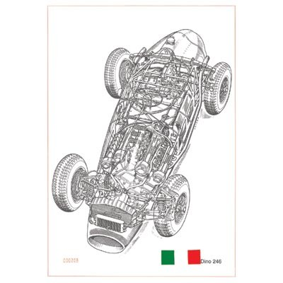 Cavara Ferrari Dino 246 Monoposti