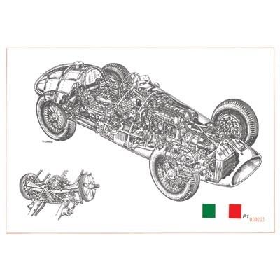 Cavara Ferrari F1