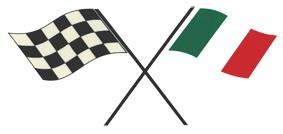 Zielflagge Italien