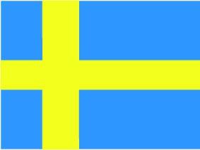 National Flagge Schweden
