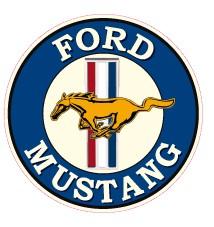 Ford Mustang Blau