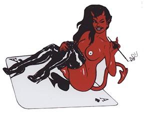 Teufelin auf Ass, Ace