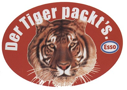 Esso Der Tiger packt's