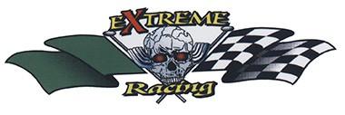 Extreme Racing mit Zielfagge
