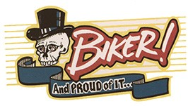 Biker and proud of it