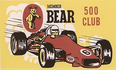 Member Bear 500 Club