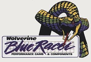 Wolverine Blue Racer