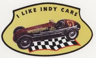 I like Indy Cars