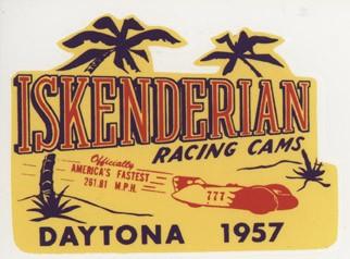 Iskenderian Racing Cams 1957