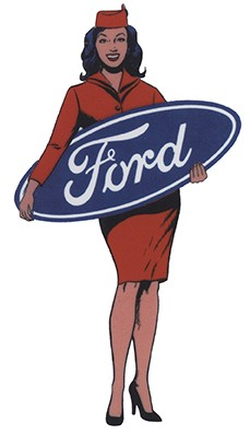 Pin Up Ford