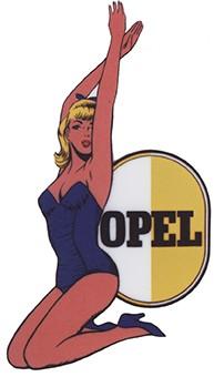Pin Up Opel