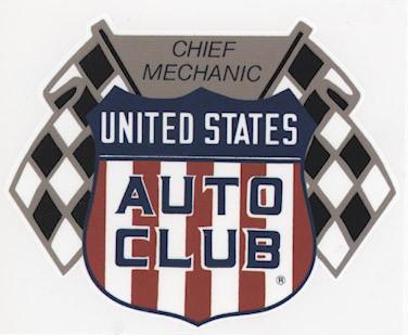 US Auto Club Chief Mechanic