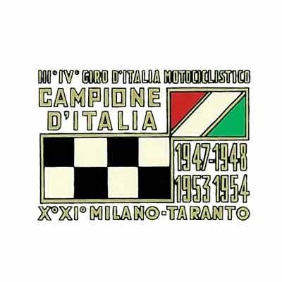 Moto Morini Campione d'Italia