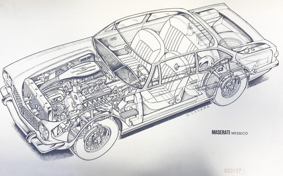 Cavara Maserati Messico