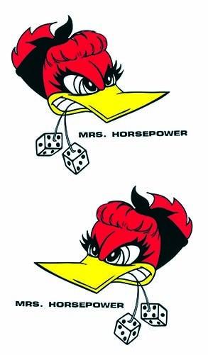 Mrs. Horsepower