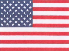 National Flagge Amerika