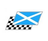 Schottland Zielflaggen Paar