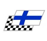 Finnland Zielflaggen Paar