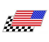 Amerika Zielflaggen Paar