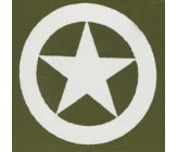 Militär Stern im Kreis